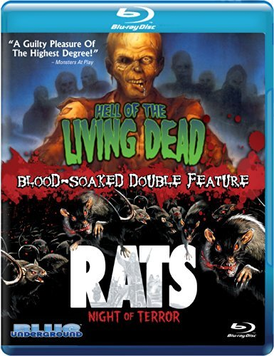 Hell Of The Living Dead Rats Night Of Terror Double Feature Blu Ray Nr