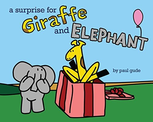 Paul Gude A Surprise For Giraffe And Elephant