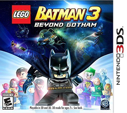 Nintendo 3ds Lego Batman 3 Beyond Gotham