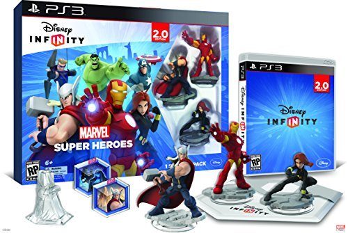 Ps3 Disney Infinity 2.0 Marvel Starter Pack