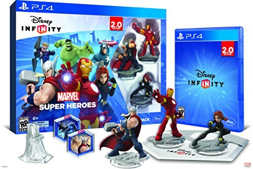 Ps4 Disney Infinity 2.0 Marvel Starter Pack