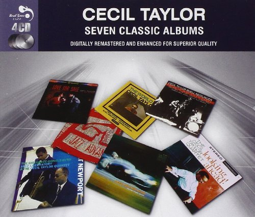 Cecil Taylor Seven Classic Albums Import Gbr 4 CD