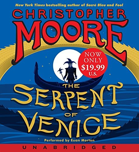 Christopher Moore The Serpent Of Venice Low Price CD