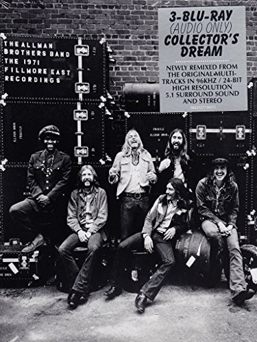 Allman Brothers Band 1971 Fillmore East Recordings Blu Ray Audio