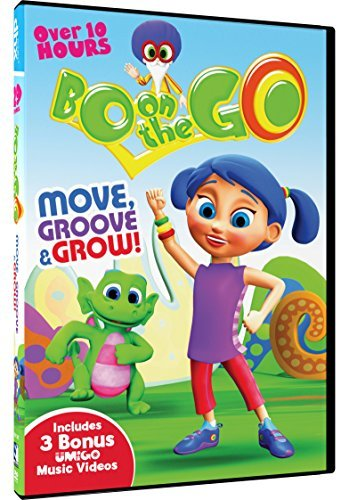 Bo On The Go Move Groove & Grow DVD