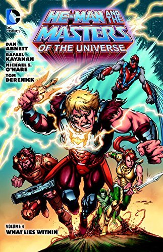 Dan Abnett He Man And The Masters Of The Universe Volume 4 What Lies Within