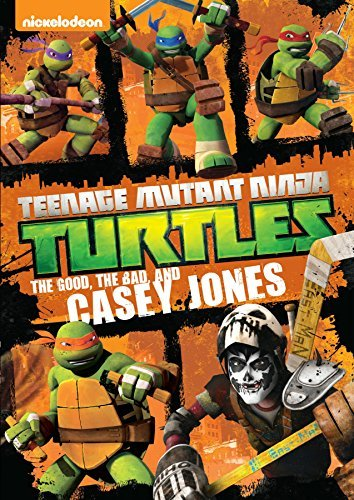 Teenage Mutant Ninja Turtles The Good The Bad & The Casey Jones DVD
