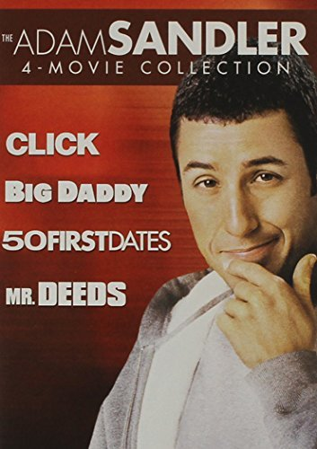 Adam Sandler 4 Movie Collection Click Big Daddy 50 First Dates Mr. Deeds