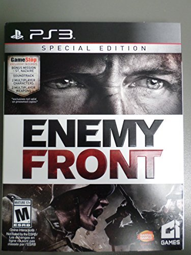 Ps3 Enemy Front Special Edition