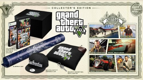 Ps3 Grand Theft Auto V Collector's Edition