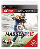Ps3 Madden Nfl 15 Ultimate Edition Madden Nfl 15 Ultimate Edition