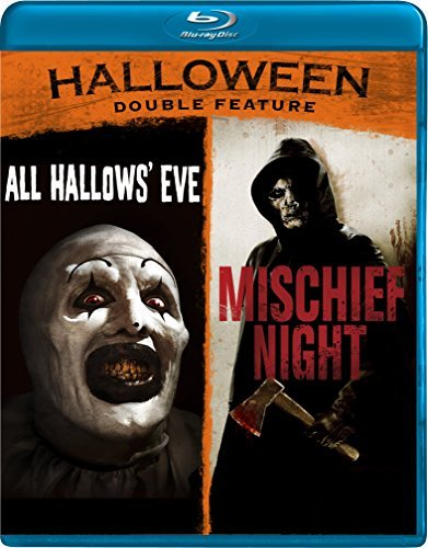 All Hallow's Eve Mischief Night Halloween Double Feature Blu Ray Nr