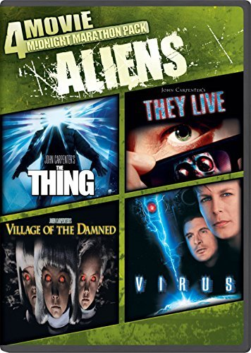 Midnight Marathon Pack Aliens DVD