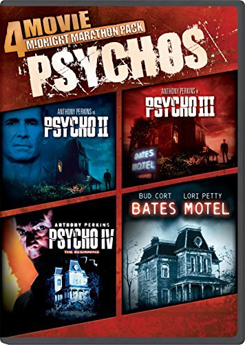 Midnight Marathon Pack Psychos DVD
