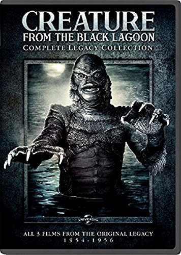 Creature From The Black Lagoon Legacy Collection DVD Nr