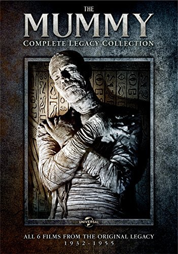 The Mummy Legacy Collection DVD