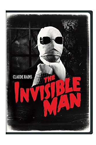 Invisible Man (1933) Rains Stuart Harrigan DVD Nr