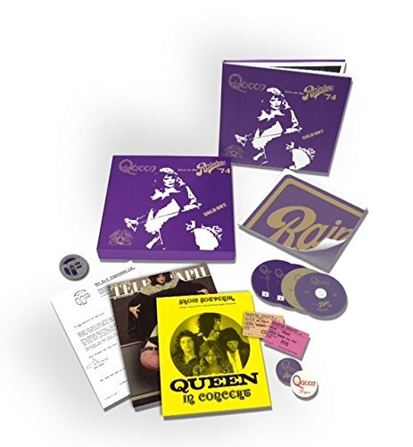 Queen Live At The Rainbow CD DVD Blu Ray Deluxe Edition