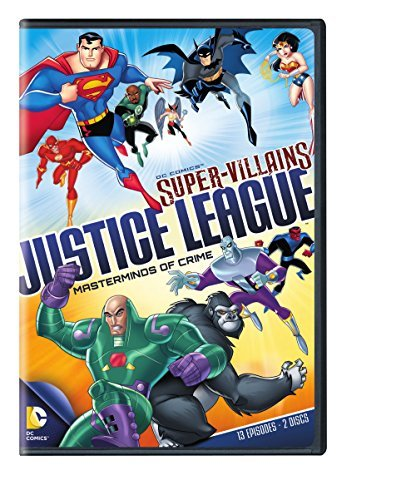 Dc Supervillains Justice League Masterminds Of Crime DVD