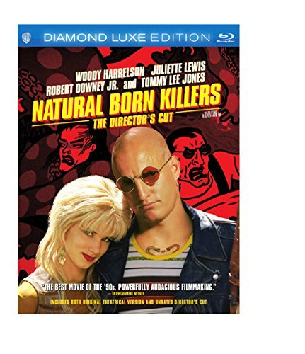 Natural Born Killers Harrelson Downy Jr. Lewis Jones Blu Ray 20th Anniversary Edition R