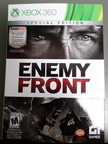 Xbox 360 Enemy Front Special Edition