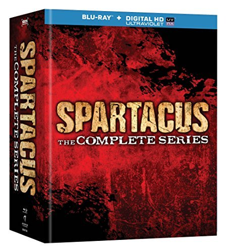 Spartacus The Complete Collection Blu Ray