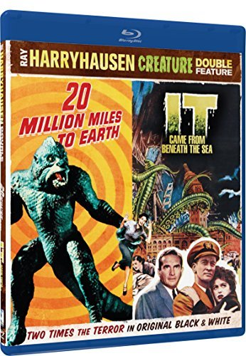 20 Million Miles To Earth It Came From Beneath The Double Feature Blu Ray