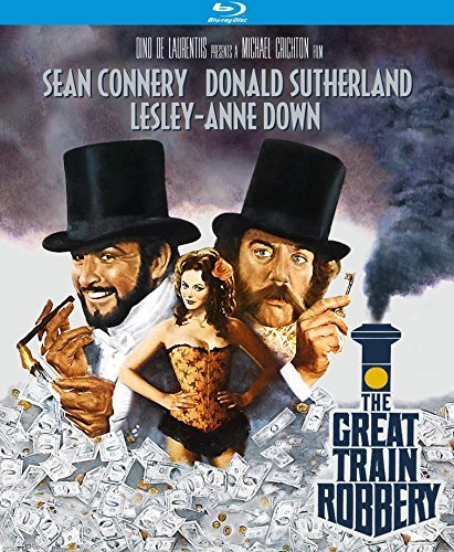 Great Train Robbery Connerysutherland Down Blu Ray Pg