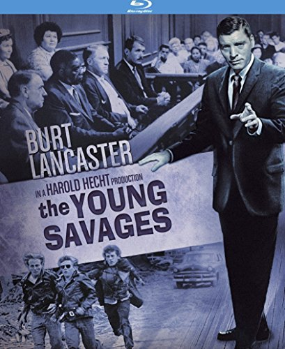 Young Savages Lancaster Merrill Blu Ray Nr