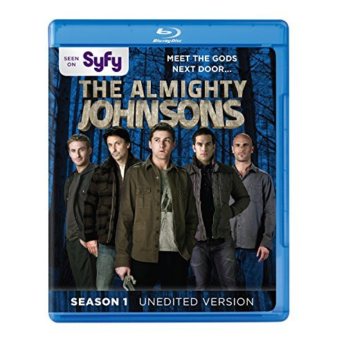 Almighty Johnsons Season 1 Blu Ray