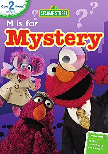 Sesame Street M Is For Mystery DVD