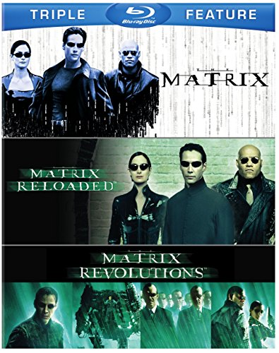 Matrix Matrix Reloaded Matrix Triple Feature Blu Ray