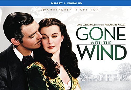 Gone With The Wind Gable Leigh Howard Blu Ray 75th Anniversary Edition