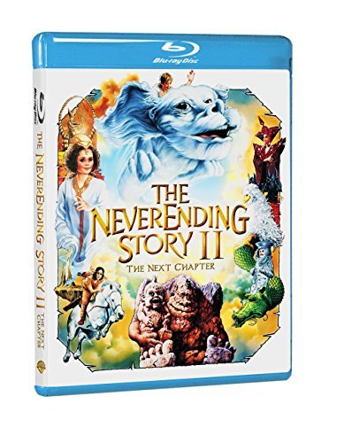 Neverending Story Ii Next Chapter Brandis Morrison Burt Shipp Blu Ray Pg