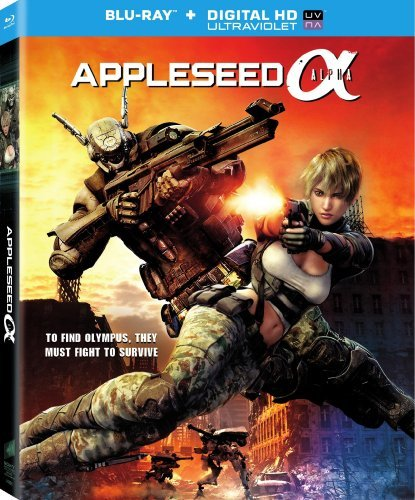 Appleseed Alpha Appleseed Alpha Blu Ray Pg13