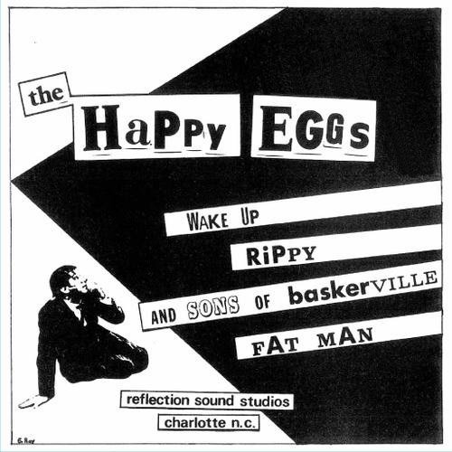 Happy Eggs Wake Up Lmtd Ed. Clear Vinyl