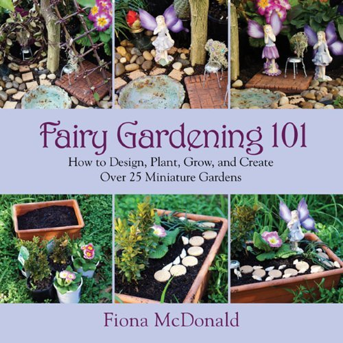 Fiona Mcdonald Fairy Gardening 101 How To Design Plant Grow And Create Over 25 Mi