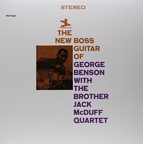 George Benson Brother Jack Mcduff Quartet New Boss Guitar