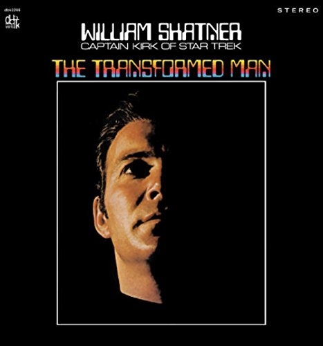 William Shatner Transformed Man Lmtd Ed. Red Vinyl