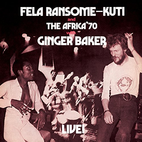 Fela Kuti Fela Live With Ginger Baker