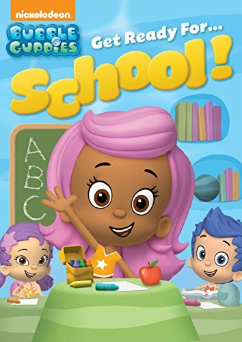 Bubble Guppies Get Ready For School DVD