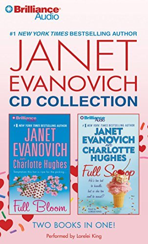 Janet Evanovich Janet Evanovich CD Collection Full Bloom Full Scoop Abridged