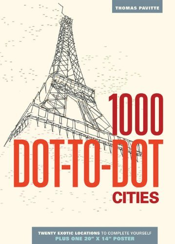 Thomas Pavitte 1000 Dot To Dot Cities
