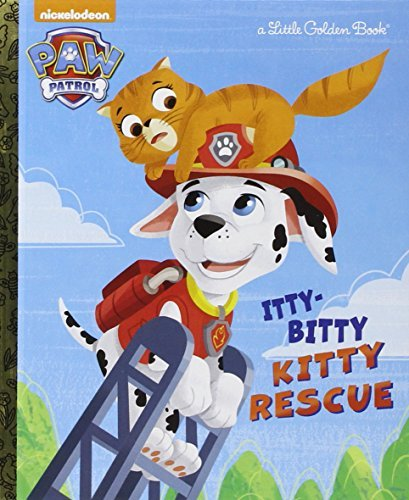 Golden Books The Itty Bitty Kitty Rescue