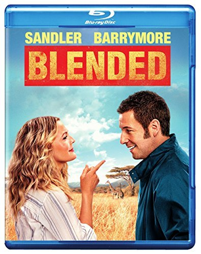 Blended Sandler Barrymore Blu Ray DVD Pg13