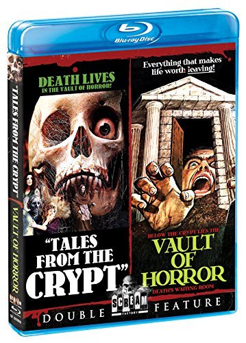 Tales From The Crypt Vault Of Horror Double Feature Blu Ray