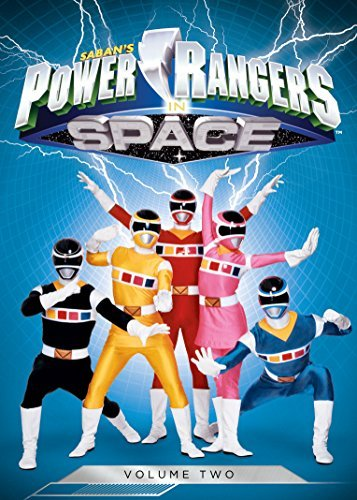 Power Rangers In Space Volume 2 DVD