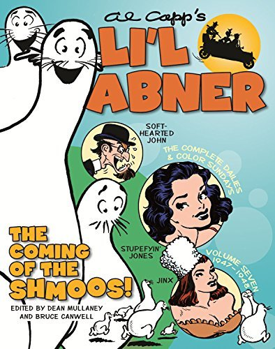 Al Capp Li'l Abner The Complete Dailies And Color Sundays Vol. 7 1