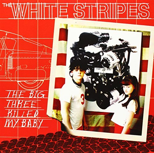 White Stripes Big Three Killed My Baby Red B 7 Inch Single