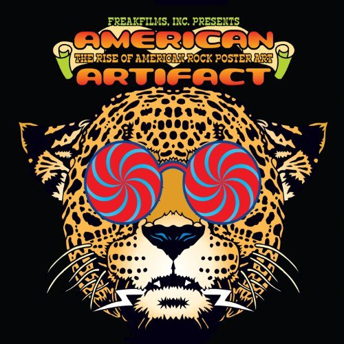 American Artifact The Rise Of American Rock Poster Art American Artifact The Rise Of American Rock Poster Art DVD Nr
